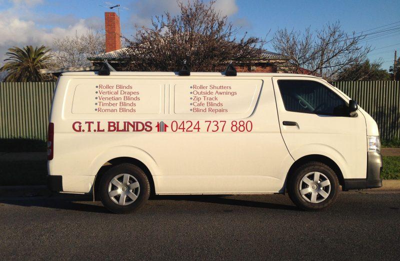 GTL Blinds Van